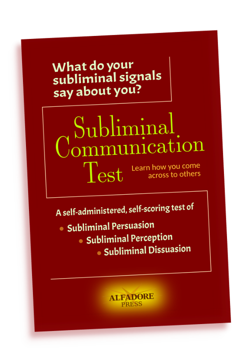 subliminal communication test by charles e. henderson, ph.d.