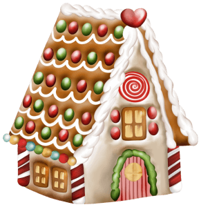 gingerbread house picture for article by christine klotz on caregiving during the holidays this christmas